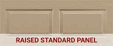 Raised standard panel